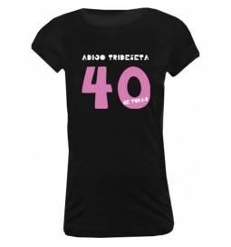 Majica za 40 let, Adijo trideseta, črna