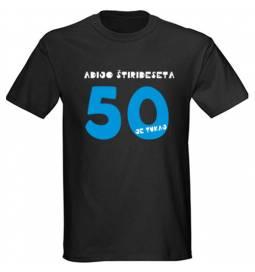 Majica za 50 let, Imam jih 50, črna