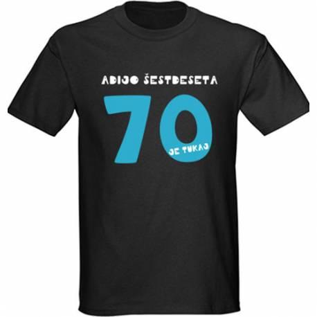 Majica za 70 let, Legenda 70, črna