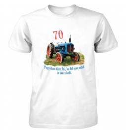 Majica za 70 let, Penzija, traktor, uživanje