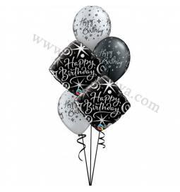 Dekoracija iz balonov Celebrate, elegant