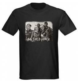 Majica Na svoji zemlji, črna