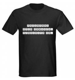 Majica Proleteri, črna