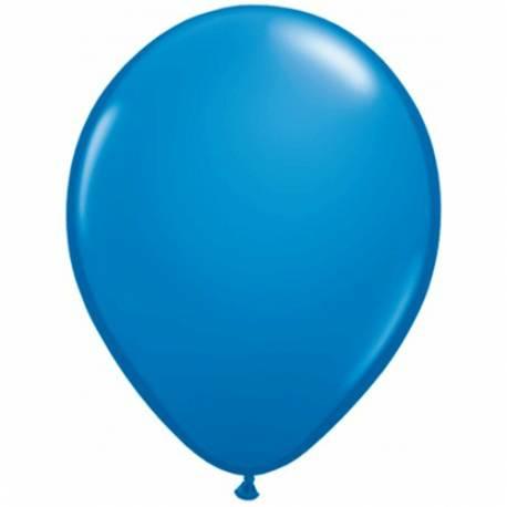 Lateks baloni 28 cm, Temno modri, 10/1