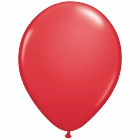 Lateks baloni 28 cm, Rdeči, 10/1