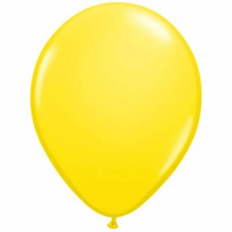 Lateks baloni 28 cm, Rumeni, 10/1