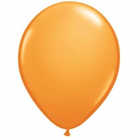 Lateks baloni 28 cm, Oranžni, 10/1