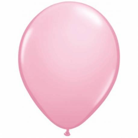 Lateks baloni 28 cm, Svetlo roza, 10/1