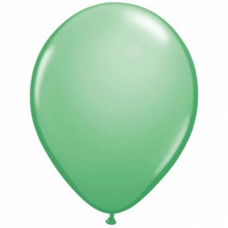 Lateks baloni 28 cm, Wintergreen, 10/1
