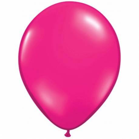 Lateks baloni 28 cm, Jewel magenta, 10/1