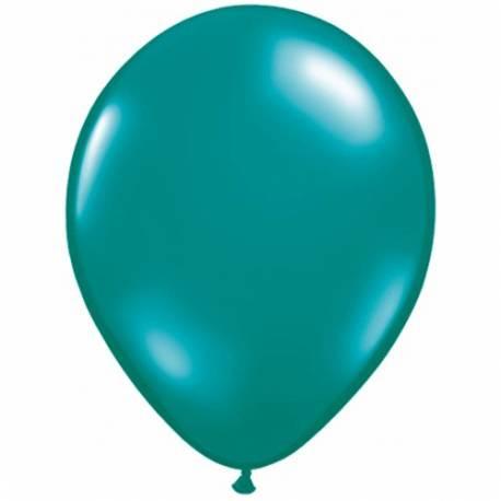 Lateks baloni 28 cm, Svetlo zeleni, 10/1, prozorni