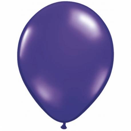 Lateks baloni 28 cm, Temno oranžni, 10/1, prozorni