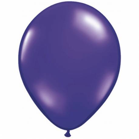 Lateks baloni 28 cm, Temno vijola, 10/1, prozorni