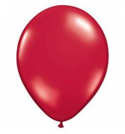 Lateks baloni 28 cm, Esmeraldno zeleni, 10/1, prozorni