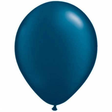 Lateks baloni 28 cm, Teal, 10/1, pearl