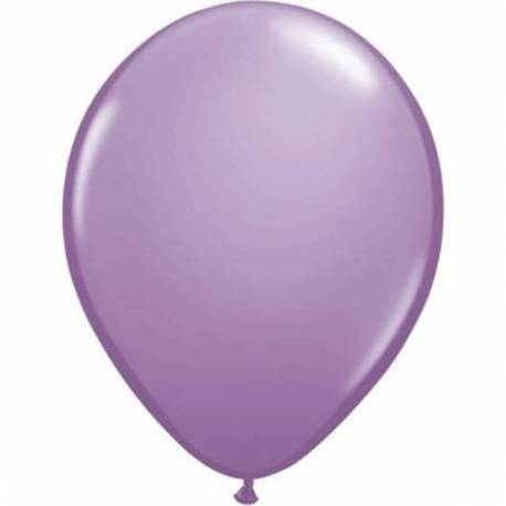 Lateks baloni 28 cm, Lila, 10/1