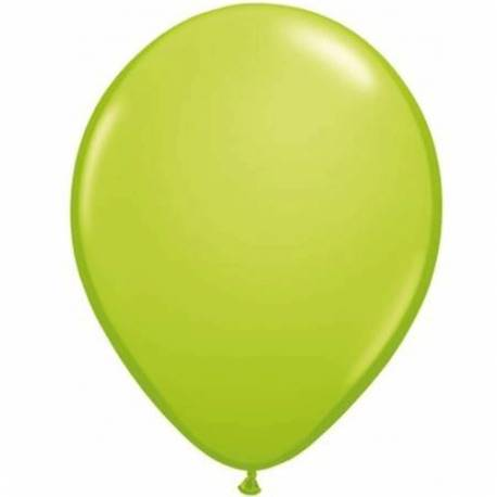 Lateks baloni 28 cm, Svetlo zelena, 10/1