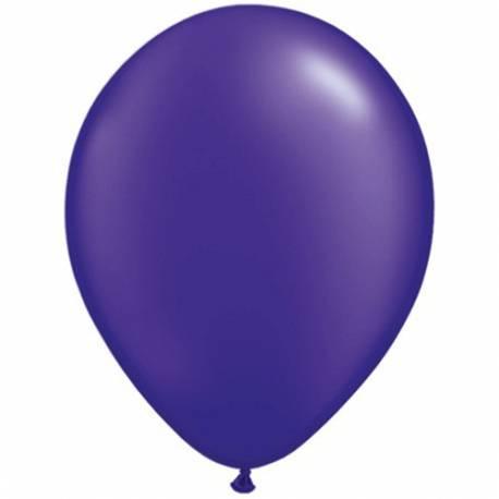 Lateks baloni 28 cm, Citron rumeni, 10/1, pearl