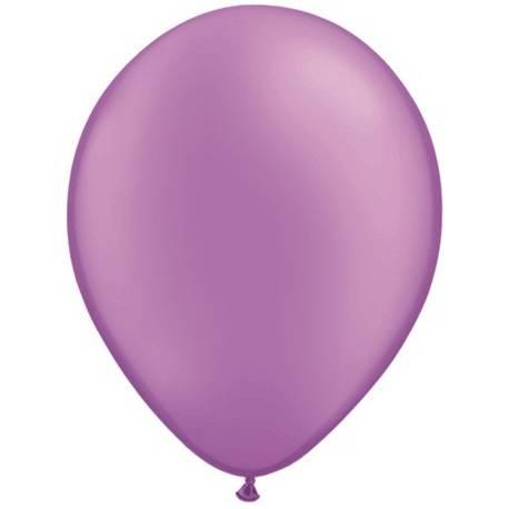 Lateks baloni 28 cm, Črni, 10/1, pearl