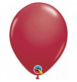 Lateks baloni 28 cm, Maroon, 10/1