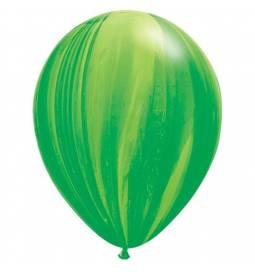Lateks baloni 28 cm, Mavrično modri, 10/1