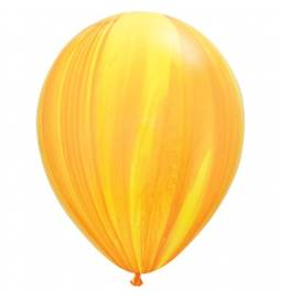 Lateks baloni 28 cm, Mavrično zeleni, 10/1