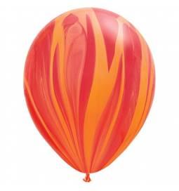 Lateks baloni 28 cm, Mavrično rumeni, 10/1