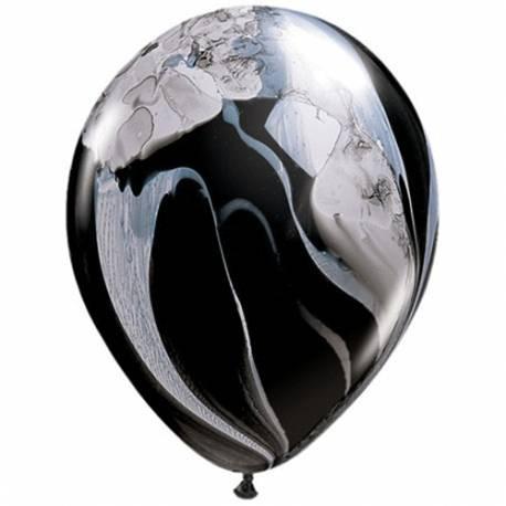 Lateks baloni 28 cm, Mavrično fashion, 10/1