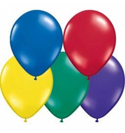 Lateks baloni 28 cm, Pisane barve, 10/1, sorbet