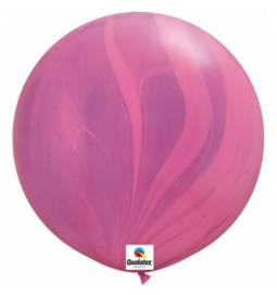 Jumbo lateks balon 75 cm, Rose gold 2/1