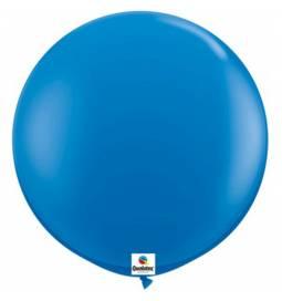 Jumbo lateks balon 90 cm, Črni 2/1