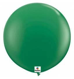 Jumbo lateks balon 90 cm, Temno modri 2/1