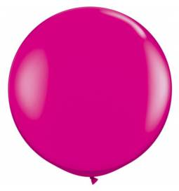 Jumbo lateks balon 90 cm, Mandarin 2/1