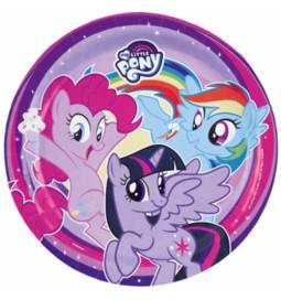 Krožniki 23 cm, My Little Pony 1, 8/1