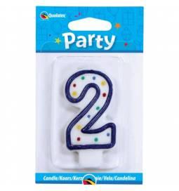 Svečka s pikami za rojstni dan, Številka 1