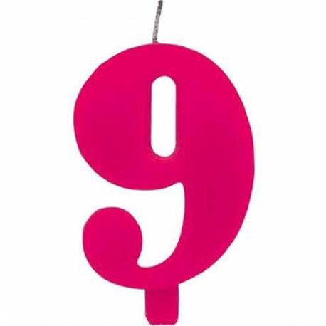 Svečka za 9. rojstni dan, Čudežna, pink