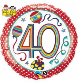Folija balon 50 let, Rachel Ellen