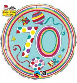 Folija balon 40 let, Rachel Ellen