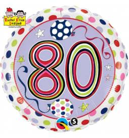 Folija balon 70 let, Rachel Ellen