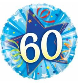 Folija balon 50 let, Modra zvezda