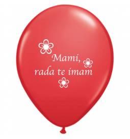 Baloni 10/1, Mami rad te imam, 28 cm