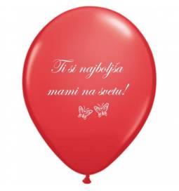 Baloni 10/1, Mami rada te imam, 28 cm