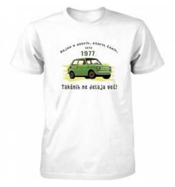 Majica Bolhca letnik 1977