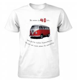 Majica za 40 let, Rdeč golf