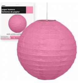 Lampijon 25 cm, pink