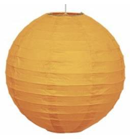 Lampijon 25 cm, oranžen