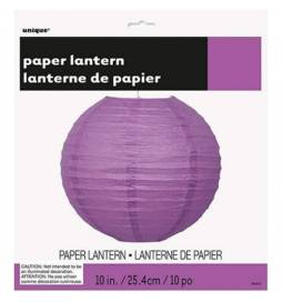 Lampijon 25 cm, vijoličen