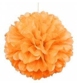 Puff Pom oranžen lampijon