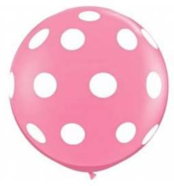 XXL lateks balon s pikami, moder