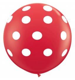 XXL lateks balon s pikami, pink